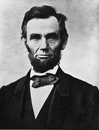 Portrait d'Abraham Lincoln