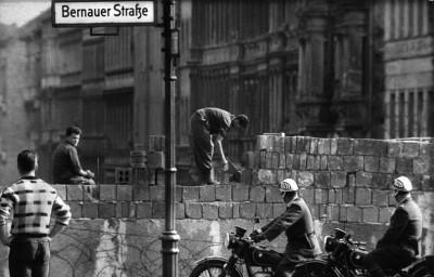 La construction du Mur.